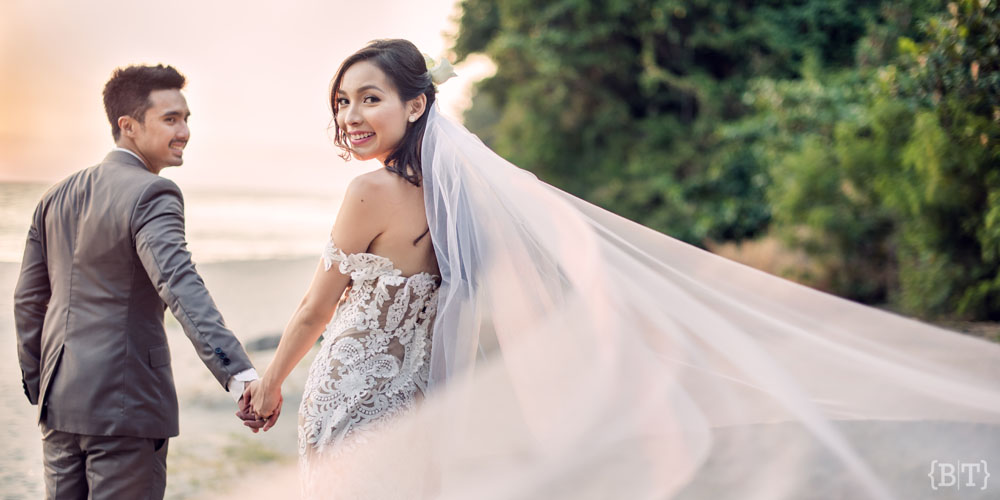 Stephanie Henares And Gino Dela Pena Montemar Wedding